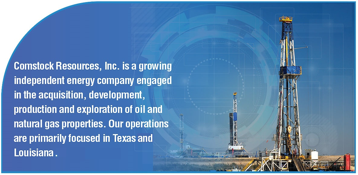 Welcome to Comstock Resources